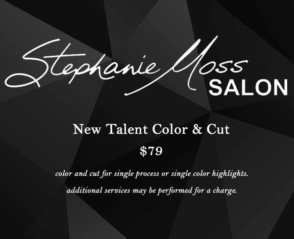 New Talent Color & Cut Special